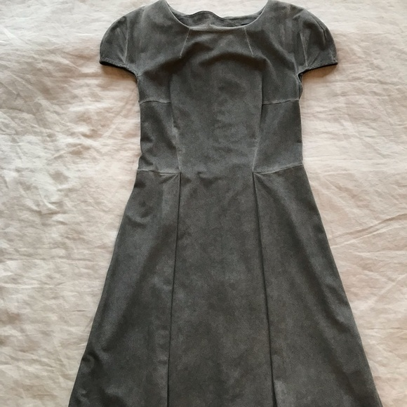 b07c246fa52 French Connection Dresses | Faux Suede Grey Dress | Poshmark